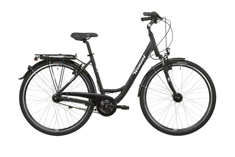 "Jersey 7 28"" schwarz matt Citybikes"