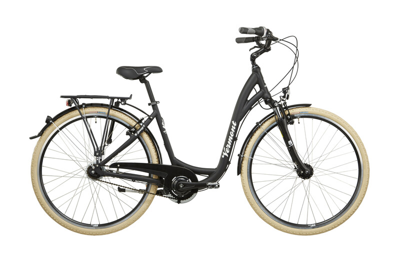 "Jersey 8 28"" schwarz matt Citybikes"