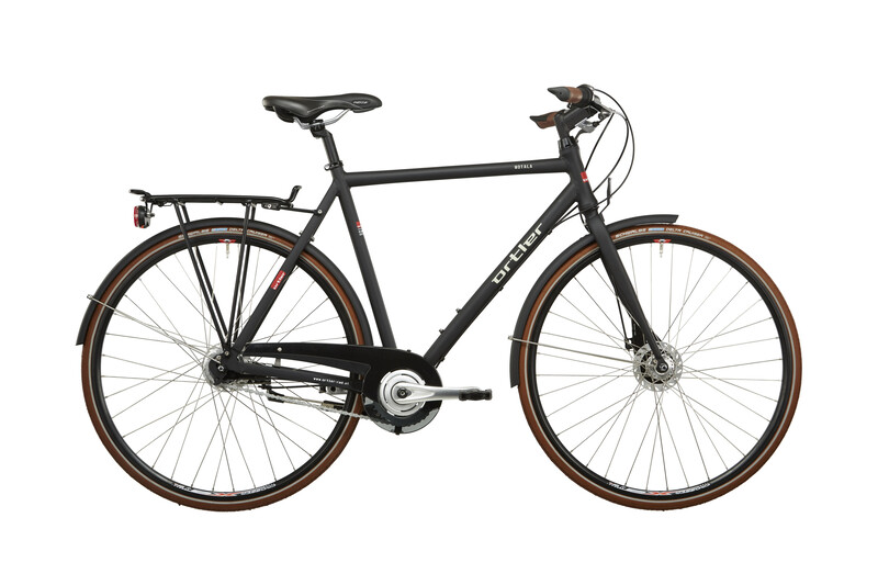 Motala Herren schwarz matt Citybikes