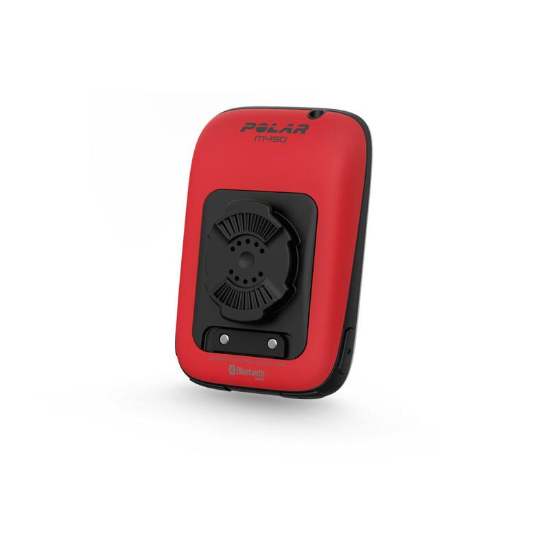 Polar Cover Accessoire GPS für M450 Fahrradcomputer rouge Cartes Accessoires 2016