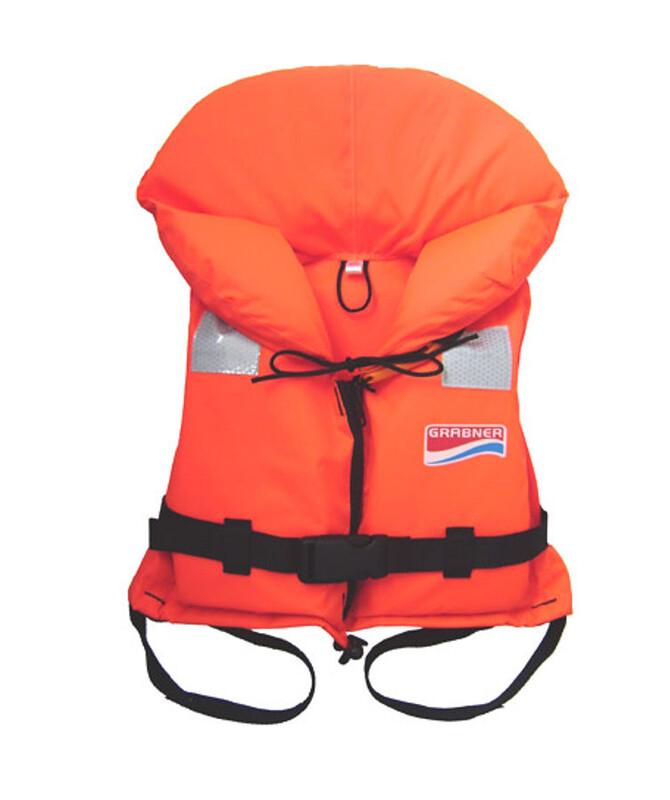 Bora Kinder-Rettungsweste orange Schwimmwesten