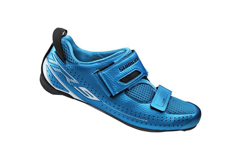 SH-TR9 Schuhe Unisex blau 45 Fahrradschuhe