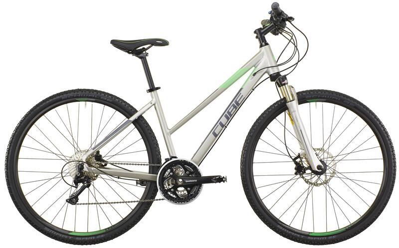 Cross Pro Trapez silver grey green Crossräder