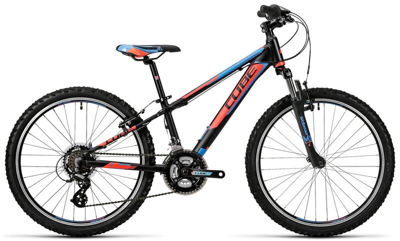 Kid 240 black'n'flashred'n'blue Kinderfahrräder