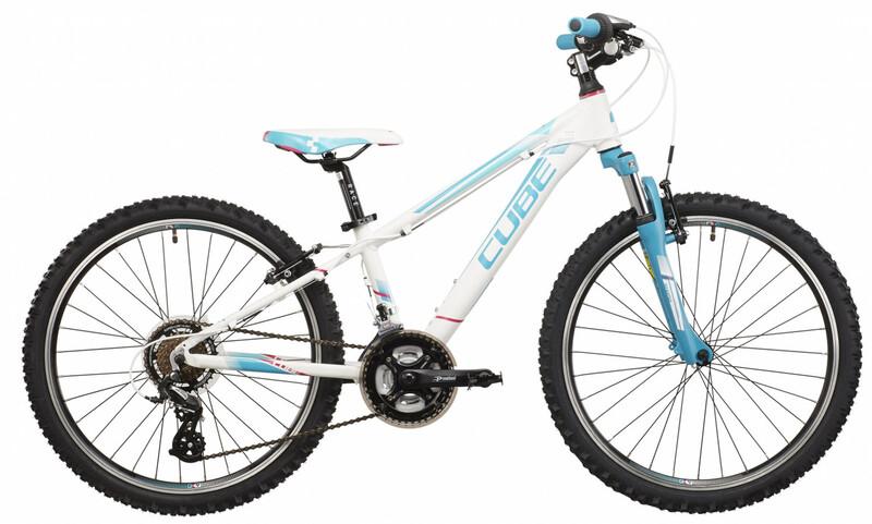 Kid 240 Girl white'n'blue Kinderfahrräder