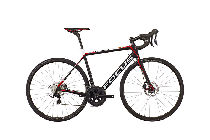 Cayo Disc 105 22G 28 carbon/white/red Rennräder