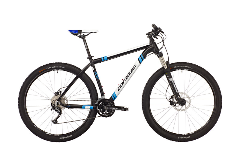 X-Vert 29er 0.4 soft black matt/process blue/white Mountainbikes