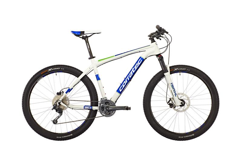 """X-Vert S 650B Expert 27,5"""" white glossy/blue/green Mountainbikes"""