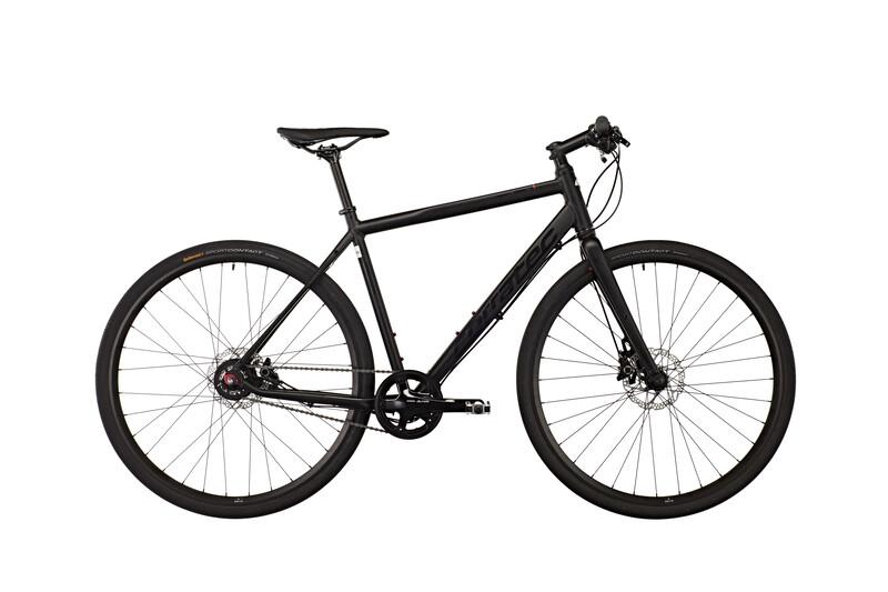 SH1 black matt/black Citybikes