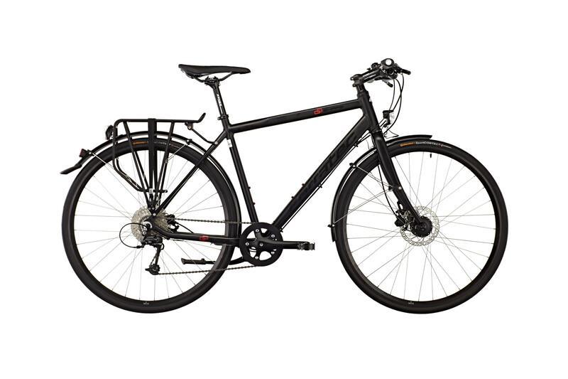 Shape Urban Gent soft black matt/red/black Trekkingräder