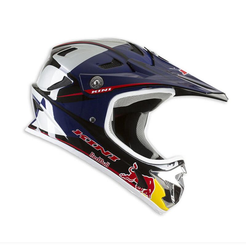 Kini Red Bull MTB Helmet blue/white Downhill Helm / Fullface Helm 2016 3L0014003