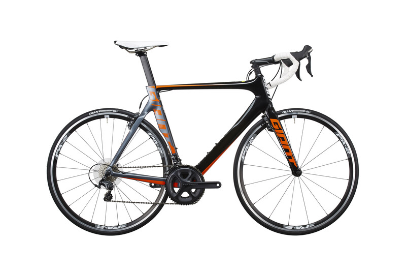 Giant Propel Advanced 1 LTD Landeveissykkel Orange/Svart 52 cm Racersykler Dame