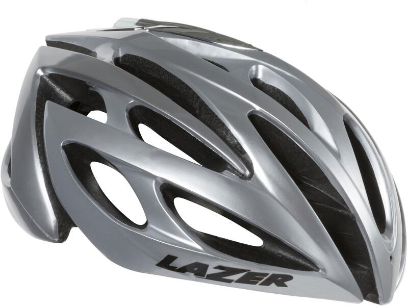 O2 Helm silver 55-61 cm Fahrradhelme