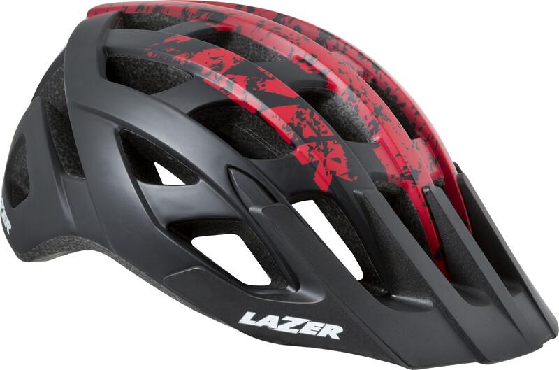 Roller Helm black-red mat 52-56 cm Fahrradhelme