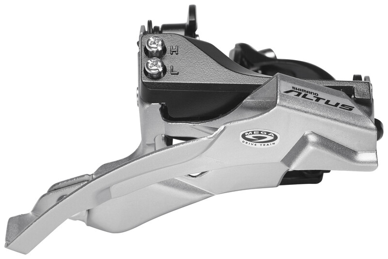 Altus FD-M370 Umwerfer 3x9-fach Schelle Dual-Pull schwar MTB Umwerfer