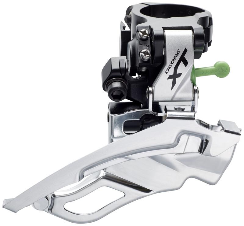 Deore XT FD-T781 Umwerfer Trekking 3x10-fach Schelle Dua MTB Umwerfer