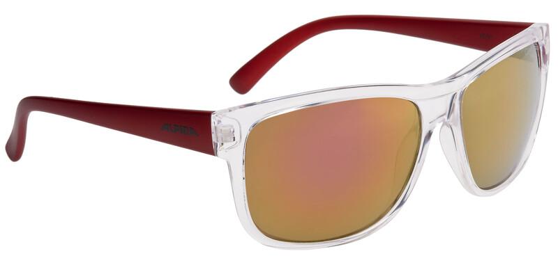 Heiny Brille transparent-red/red mirror Sonnenbrillen