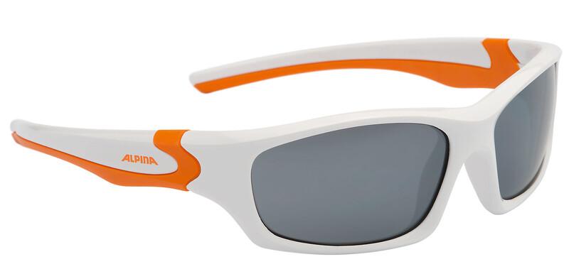 Flexxy Teen Brille white-orange/black mirror Accessories