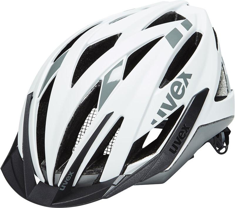 ultra snc Helm white-silver mat 55-58 cm Mountainbike Helme