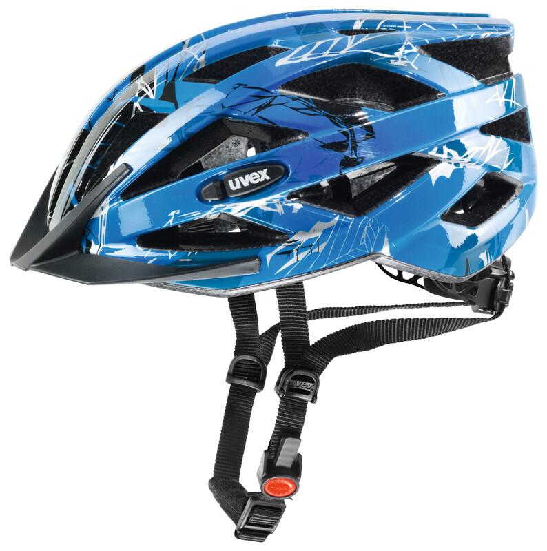i-vo c Helm blue-black 56-60 cm Mountainbike Helme