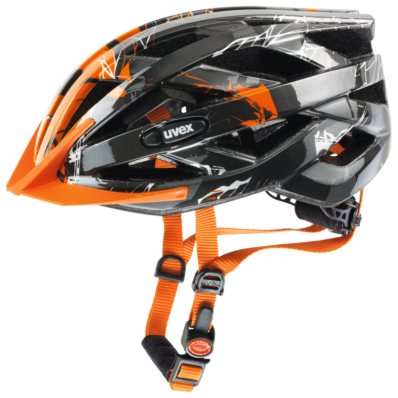 i-vo c Helm dark silver-orange 56-60 cm Mountainbike Helme