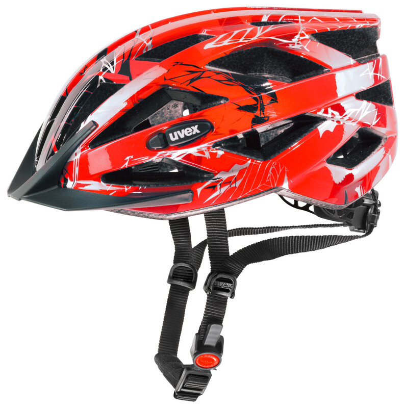 i-vo c Helm red 56-60 cm Mountainbike Helme