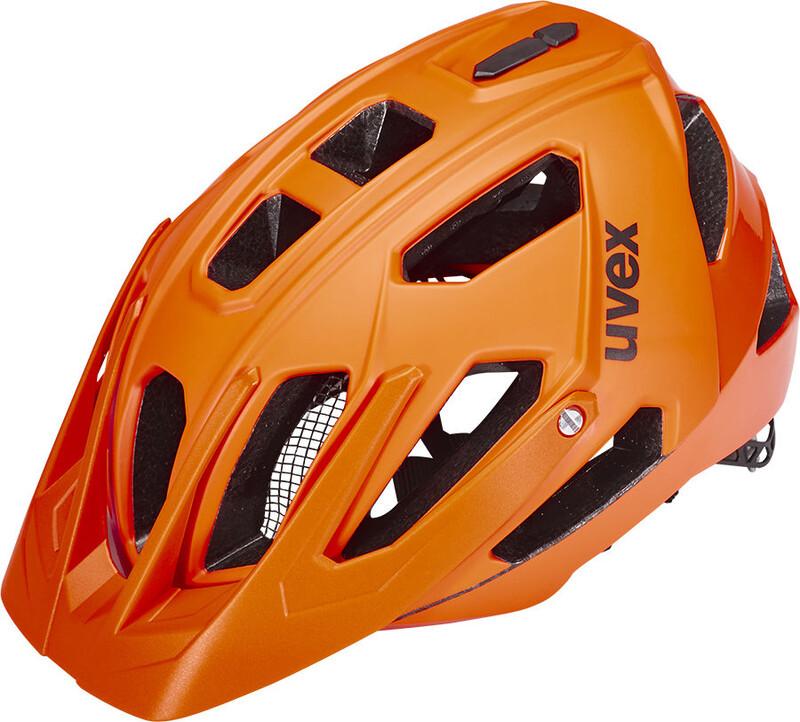 quatro Helm orange mat/shiny 56-61 cm Mountainbike Helme