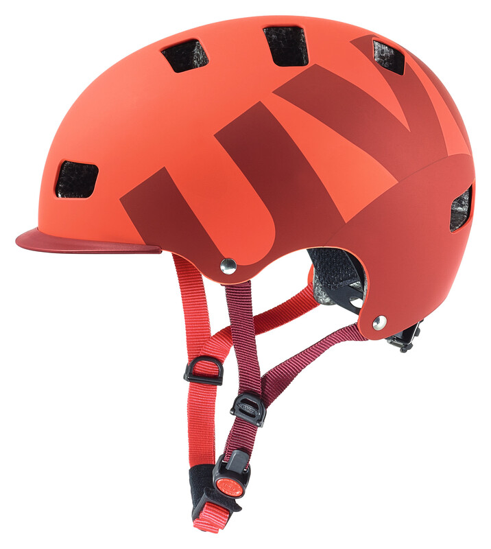 hlmt 5 bike pro Helm red mat 58-61 cm BMX & Dirt Helme