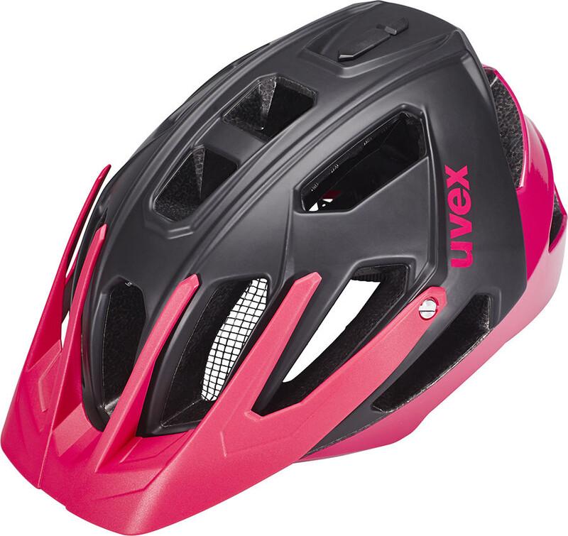 quatro Helm Damen black mat-pink 52-57 cm Mountainbike Helme