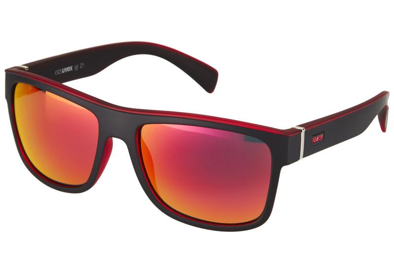 lgl 21 Brille black mat red Sonnenbrillen