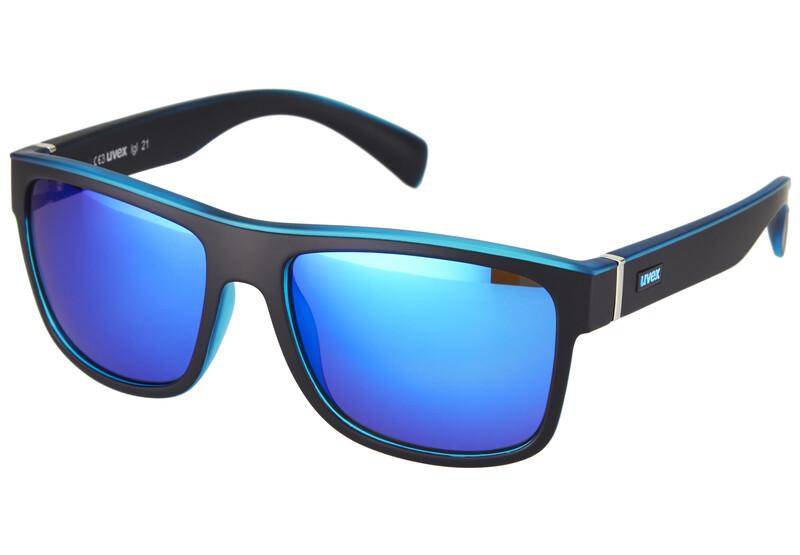 lgl 21 Brille black mat blue Sonnenbrillen
