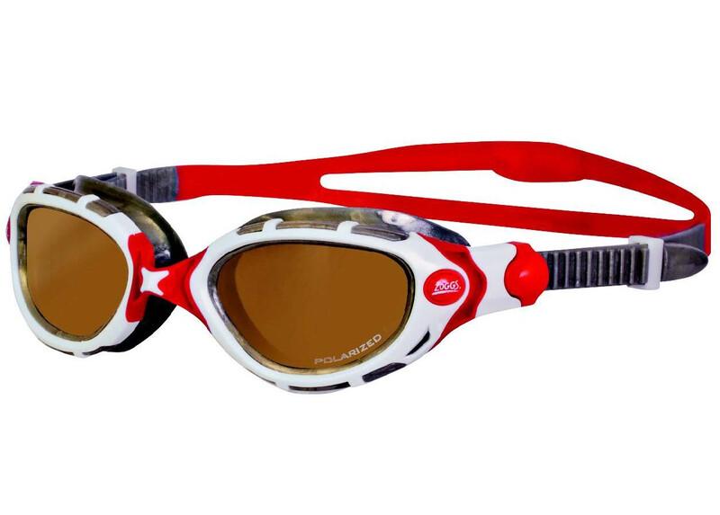 Predator Flex Polarized Ultra Swimming Goggle copper/white Schwimmbrillen
