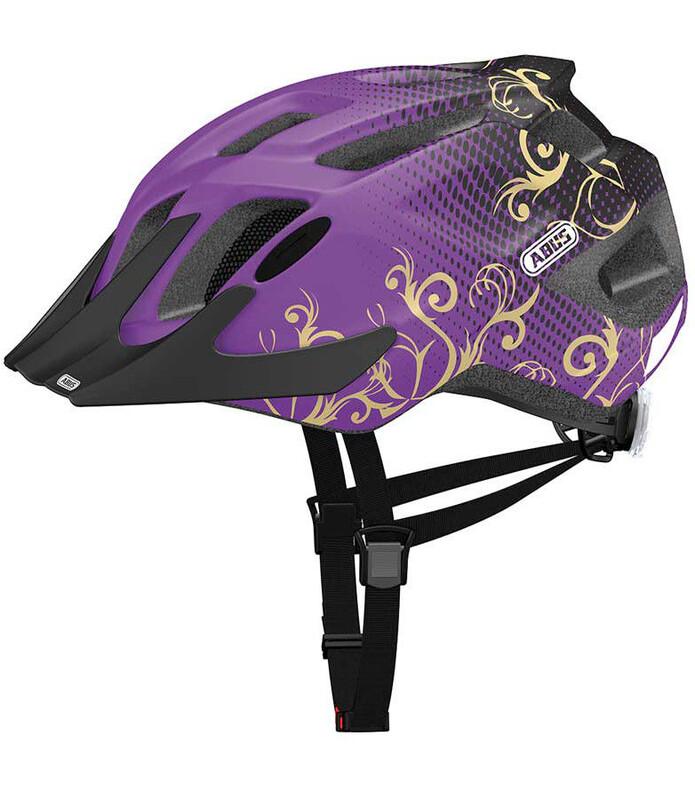MountX Helm maori purple 53-58 cm Bike Helme