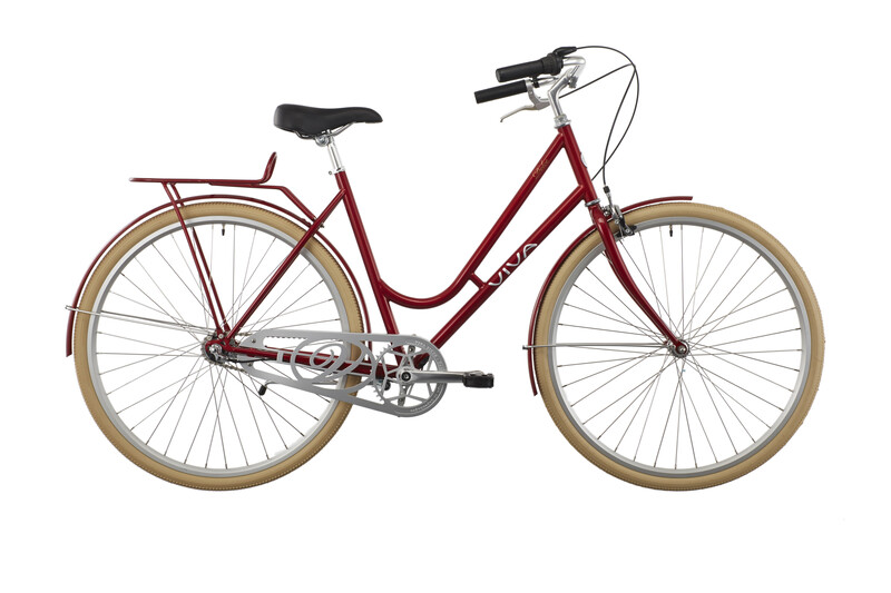 2. Wahl: Viva Dolce Steel Classic Damen 3G rot 2. Wahl Fahrräder