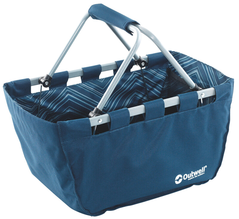 Folding Basket blue Zubehör Campingküche