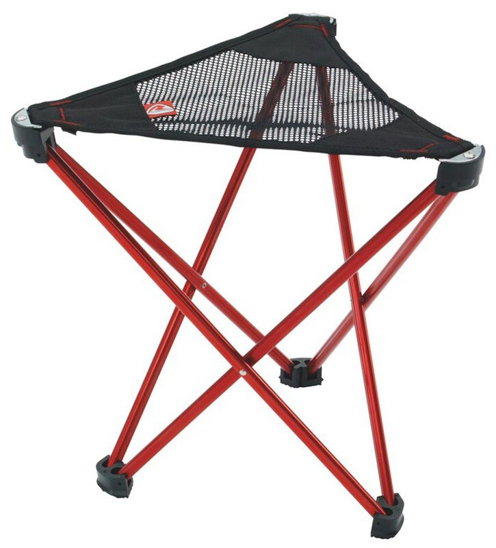 Geographic Stool High Red Campingstühle