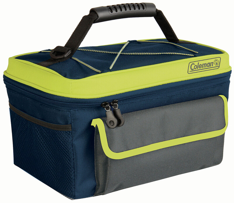 Sport Soft Cooler 9L blue/yellow Camping Kühlbox
