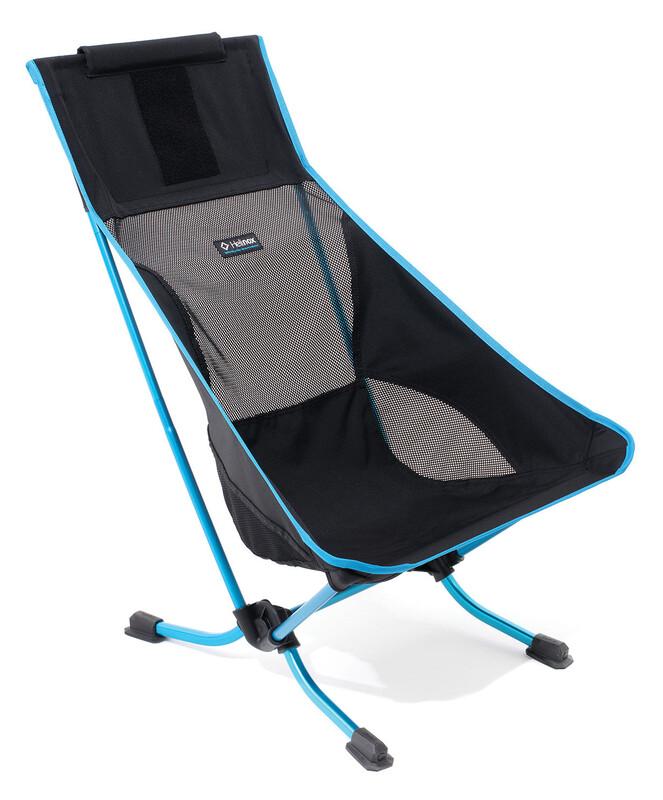 Beach Chair black Campingstühle
