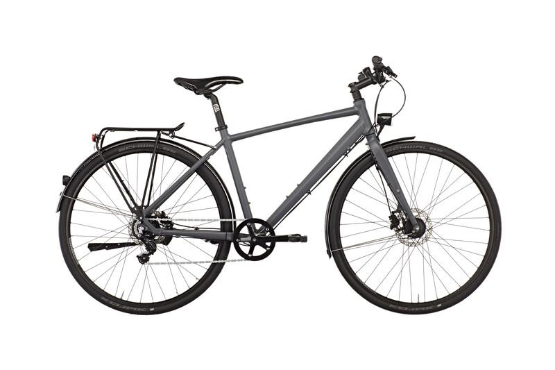 TX 7 Nexus Bike Herren schiefergrau matt Citybikes