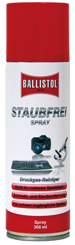 Staubfrei Druckspray 300ml Zubehör Campingküche
