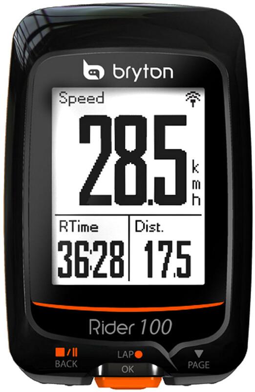 Rider 100 T GPS Fahrradcomputer + Herzfrequenz + Trittfre Fahrradcomputer
