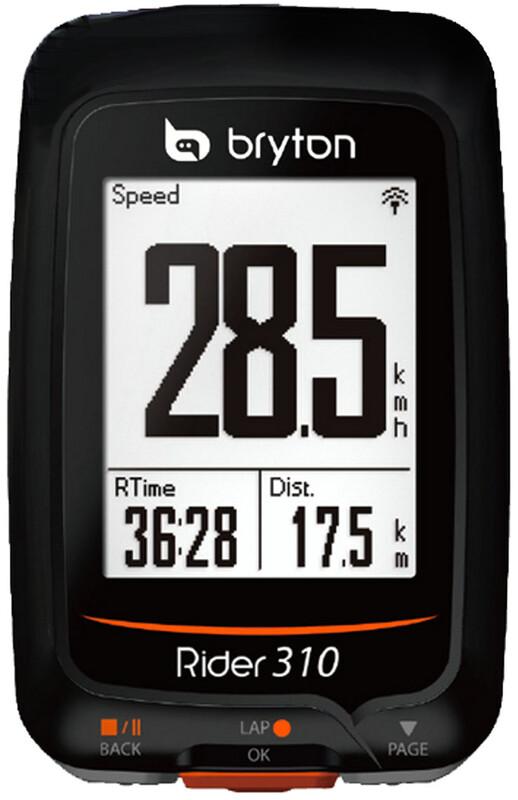Rider 310 T GPS Fahrradcomputer + Herzfrequenz + Trittfre Fahrradcomputer