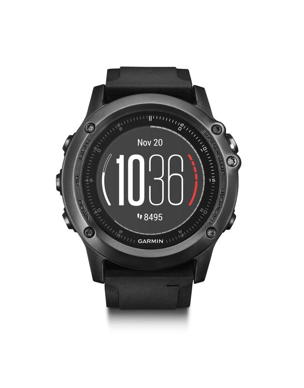 fenix 3 HR Saphir GPS Multisportuhr Performer Bundle/Prem Pulsuhren