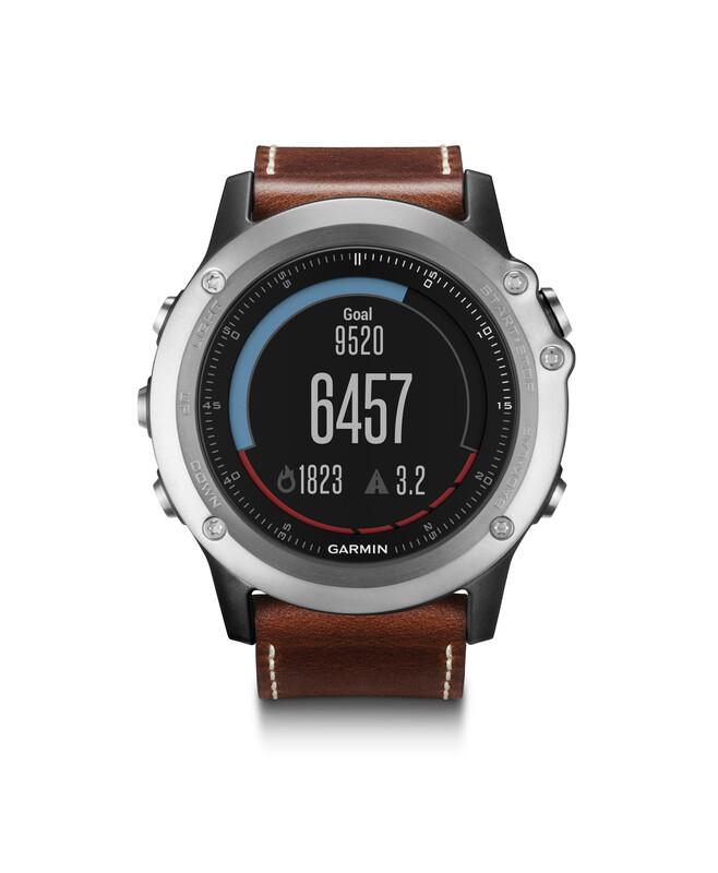 fenix 3 Saphir GPS Multisportuhr Performer Bundle/Premium Pulsuhren