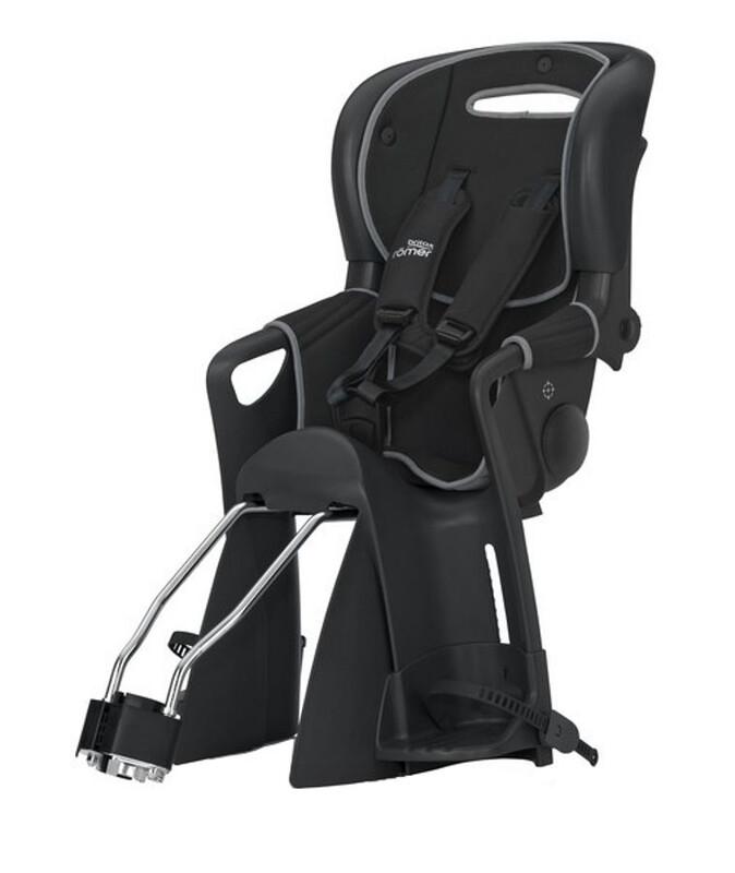 Jockey Comfort Kindersitz schwarz/grau Kindersitz-Systeme