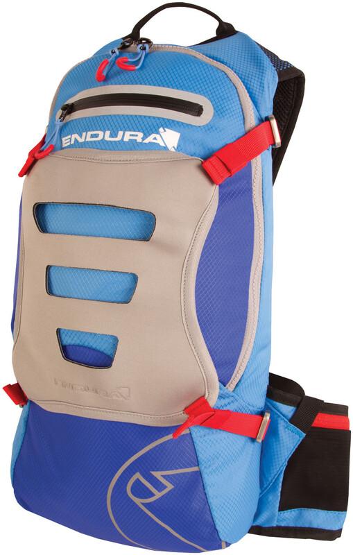 SingleTrack Rucksack mit Hydrapak Blau Trinkrucksäcke