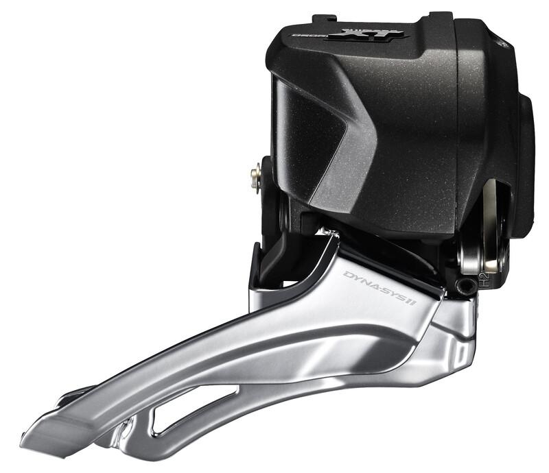 Deore XT Di2 FD-M8070 Umwerfer 2x11 Down Swing Schwarz MTB Umwerfer