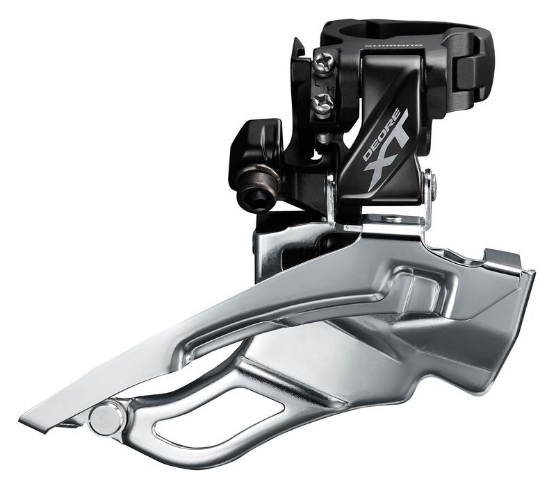 Deore XT Trekking FD-T8000 Umwerfer Schelle hoch 3x10 Do MTB Umwerfer