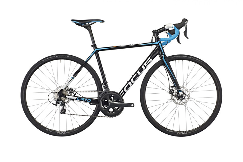 2. Wahl Cayo AL Disc Tiagra 20G 28 magic black Roadbikes