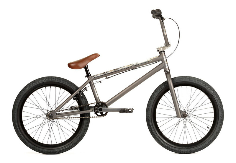 Woofer Greatful Matt Dark Grey BMX